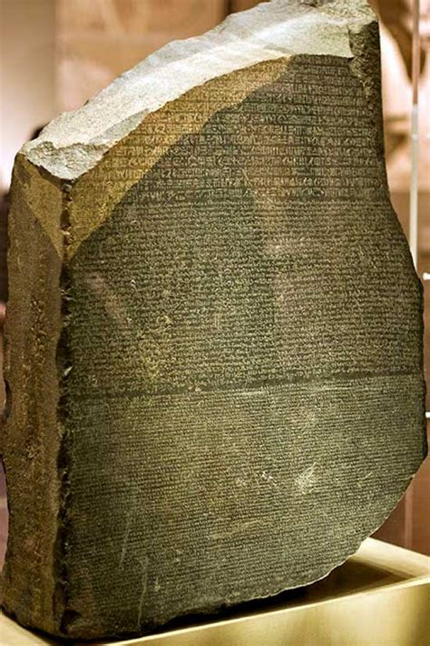 rosetta stone in british museum published july 18 2013 at 550 215 826 in walking through
