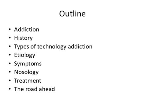 Technology Detox Symptoms by Technology Addiction Addiction Social