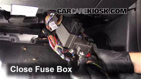 interior fuse box location   bmw   bmw  sdrivei   cyl