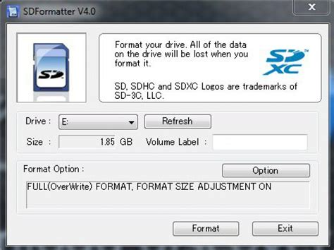 video format panasonic viera sd card panasonic sd card format program