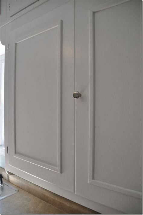 Trim On Cabinet Doors How To Add Molding To Cabinets Learning And Stuff Pinterest Doors Cupboards And Cabinet