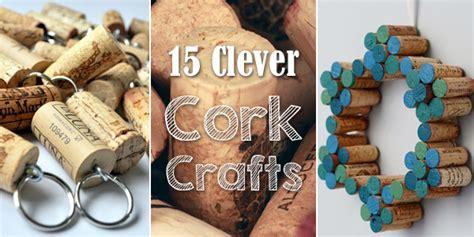 cork crafts diy wine corks 15 and clever cork crafts