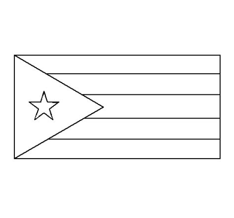 Cuba Flag Coloring Page Cuba Coloring Page Coloringcrew Com by Cuba Flag Coloring Page
