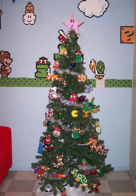 super mario christmas tree image