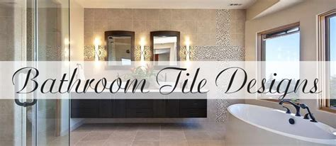 Bathroom And Kitchen Design Bathroom Tile Designs Kitchen Bath Trends