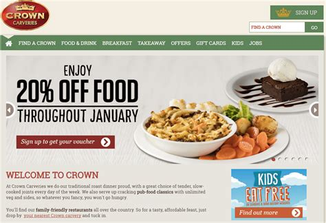 Discount Vouchers Uk Food | crown carveries voucher codes discount codes 10 off