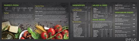 7 Tips For Designing The Best Digital Menu Board Menu Board Template