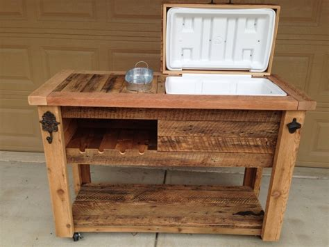 Kitchen Island Cart With Breakfast Bar reclaimed cooler bar cabinet reclaimed rustic