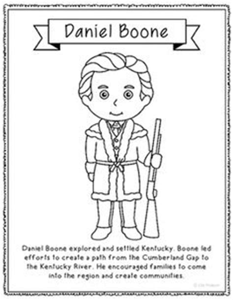 Julius Caesar Coloring Page Craft Or Poster With Mini Daniel Boone Coloring Pages
