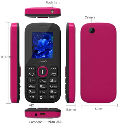 Hw Button Simple ipro unlocked simple big button torch gsm mobile cell