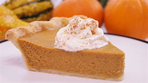 pumpkin pie recipe from scratch how to make homemade pumpkin pie dishin with di 111 youtube