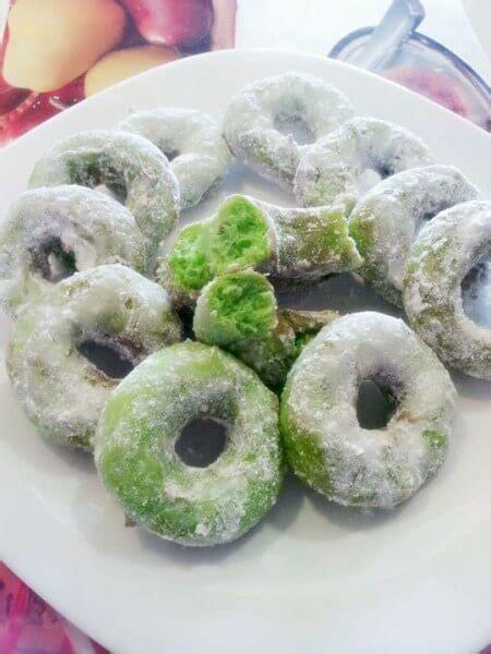 membuat donat gagal resep kue donat kukus pandan aroma rasa pandan dan