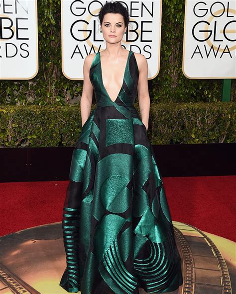 10 And Golden Globe Dresses To Crush On by Jaimie S Dress At Golden Globes Stuns In