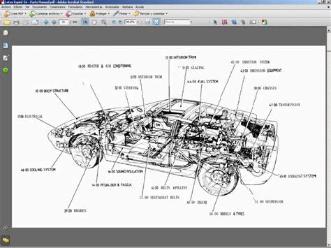 motor repair manual 1996 lotus esprit spare parts catalogs lotus esprit s4 spare parts catalogue