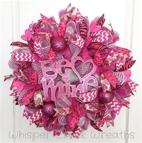 valentines mesh wreath best 25 day wreaths ideas on