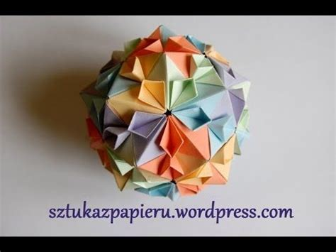 Origami Sphere Easy - 17 best images about origami kusudama on