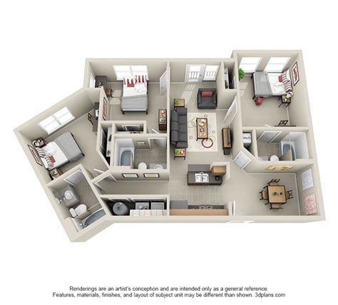 Great Affordable 2 3 4 Bedroom Student Apartments In