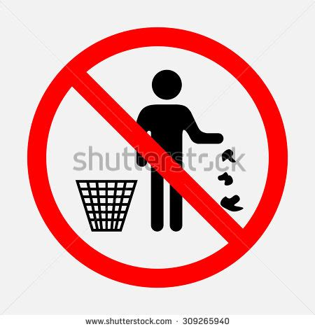 Its Forbidden In The Office no garbage stock photos images pictures