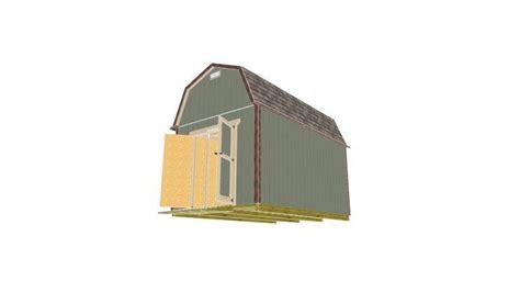 barn shed plans  model  shedking atshedking