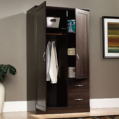 storage armoires view sauder 174 storage armoire deals at big lots