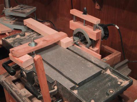 machine diy home made mortising machine