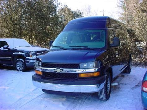 auto air conditioning service 2008 chevrolet express 3500 on board diagnostic system buy used 2008 chevrolet express 3500 ls extended passenger van 3 door 6 0l in south glens falls