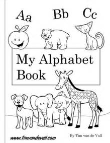 Abc Book Template by Free Printable Alphabet Book Pdf Printables For Preschool
