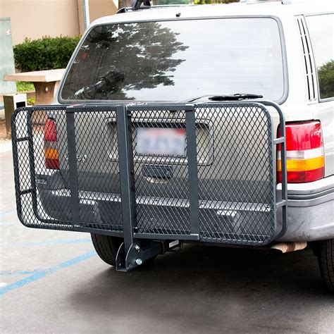 Luggage Rack Car by 60 Quot Folding Truck Car Cargo Carrier Basket Luggage Rack