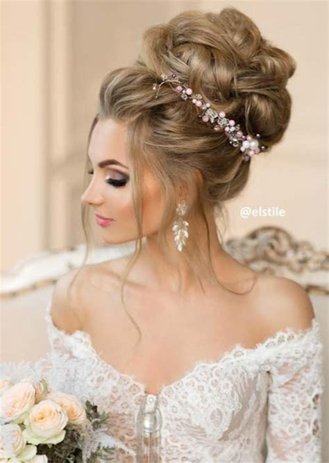 Wedding Evening Hairstyles by 53 Swanky Wedding Updos For Every To Be Glowsly