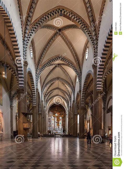 l interno della l interno della chiesa di santa novella a firenze