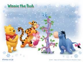 winnie pooh christmas christmas wallpaper 2735477