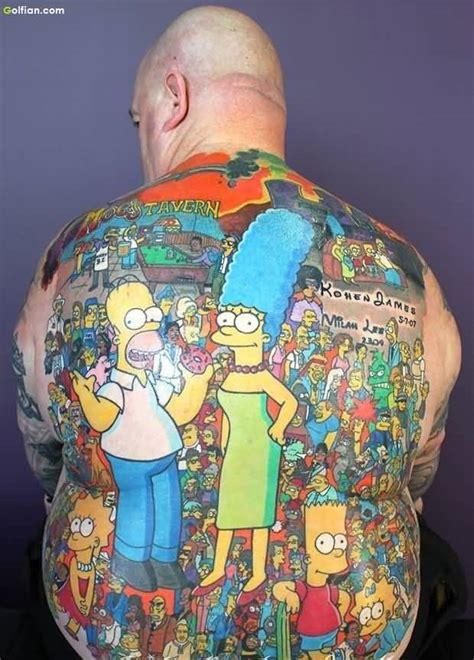 cartoon tattoos for men 60 spectacular animated ideas and designs