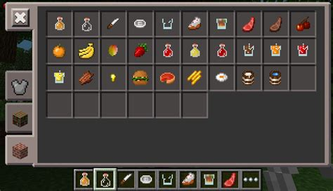 how to a in minecraft how to eat food in minecraft pe 1 2 0 7 mcpe box