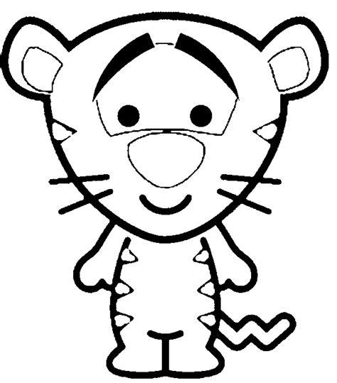 imagenes para colorear de winnie pooh bebe tigger baby para colorear imagui cumple de lola