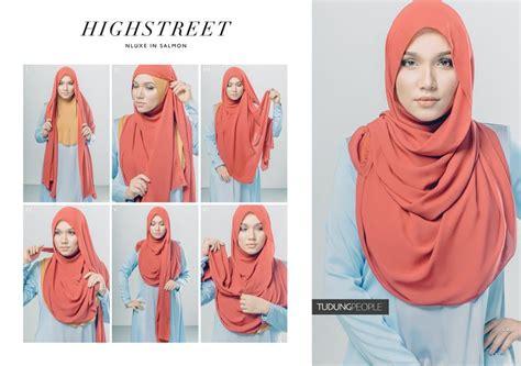 tutorial hijab simple ke undangan 8 kreasi jilbab segi empat terbaru simple dan fashionable
