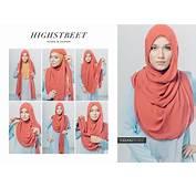8 Kreasi Jilbab Segi Empat Terbaru Simple Dan Fashionable