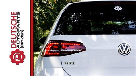 Mk7 Gti Led Lights by Mk7 Gti Led Taillight Functions How They Operate When On