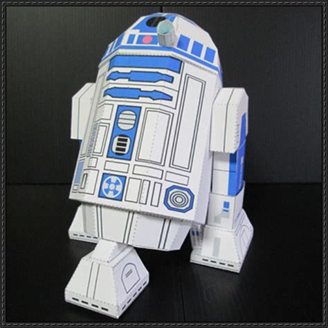 Paper Craft Wars - wars r2 d2 droid free papercraft