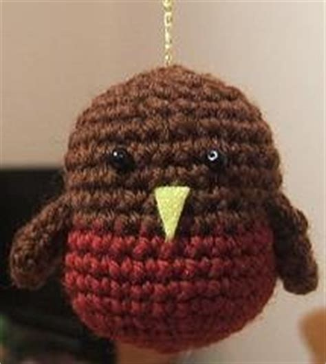pattern for christmas robin more birds to crochet free patterns grandmother s