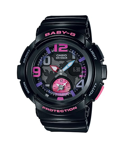 Casio Bga 190 1b bga 190 1b standard analog digital baby g timepieces