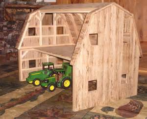 Barns For Kids Hand Crafted Wooden Toy Barn 2 By Wild Cat Hollow