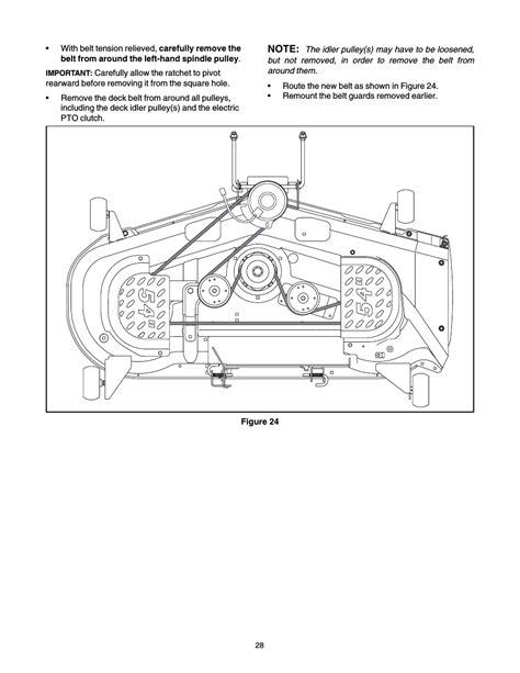 Cub Cadet Slt 1554 User Manual Page 28 36