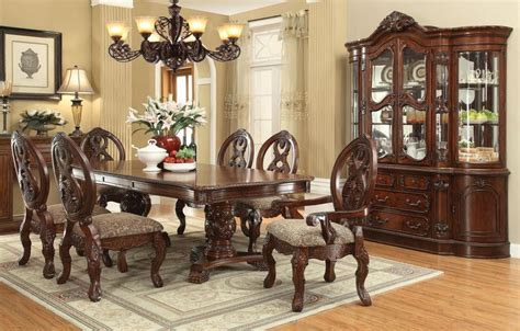 pedestal dining room table sets dallas designer furniture bellagio formal dining room