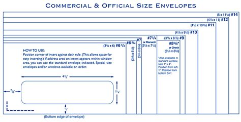 printable envelope size chart custom printed business envelope faq resources