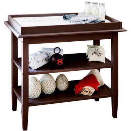 Lolly And Me Universal Open Shelf Changing Table Espresso Changing Table Shelf