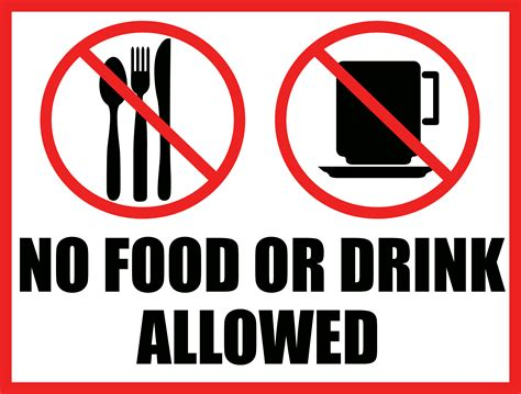 no food or drink no food or drink sign vector by mrmephobia on deviantart
