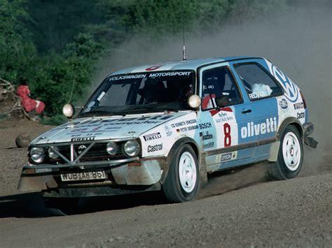 Rallye Auto 89 by Volkswagen Golf Gti 16v Rally Car Typ 19 1987 89
