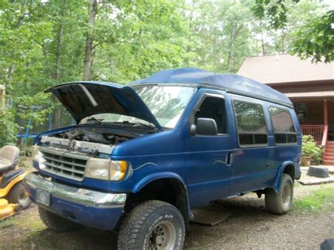 how cars run 1999 ford econoline e350 navigation system 1999 ford e150 full size van and 1993 e350 4x4 ujointoffroad 4wd travel cer for sale ford