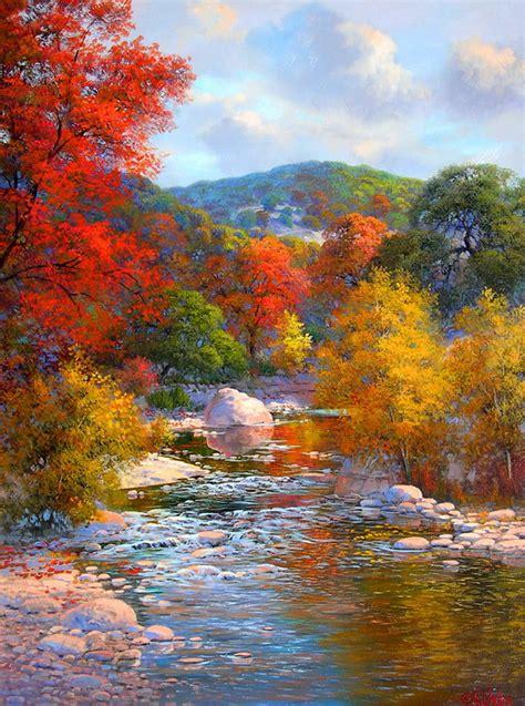 imagenes de paisajes modernos cuadros pinturas oleos cuadros verticales de paisajes