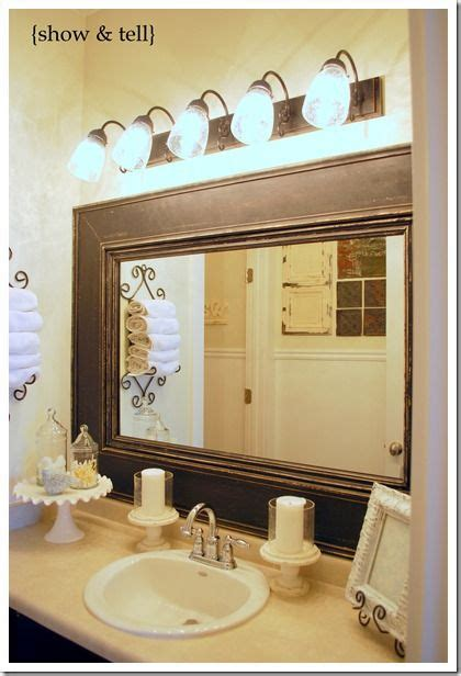 fun bathroom mirrors kids bathroom update framed builder mirror cakes love